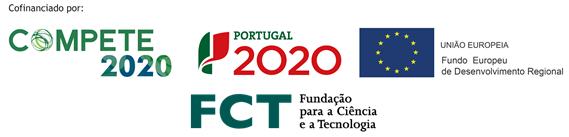 COMPETE 2020 + PT2020 + EU (Logotipo FEDER) + FCT